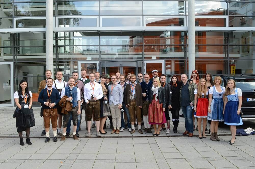 SEO Wiesn Group photo