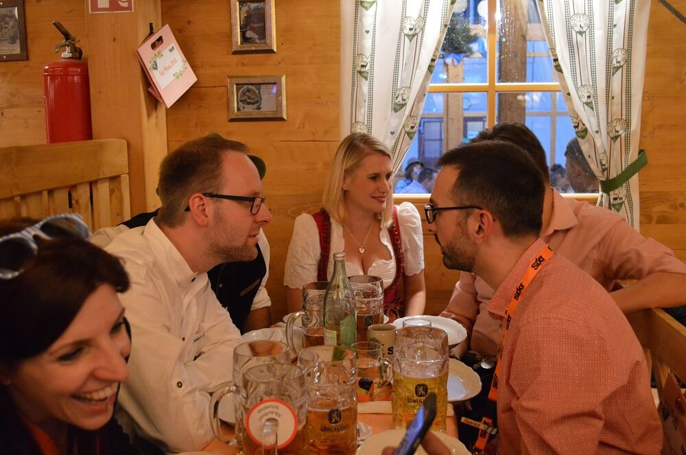 SEO Wiesn at Oktoberfest