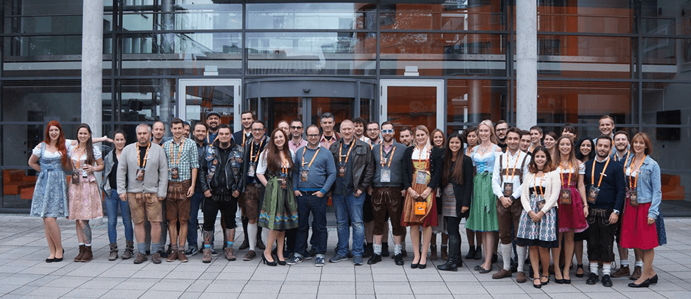 SEO Wiesn Group Photo 2017